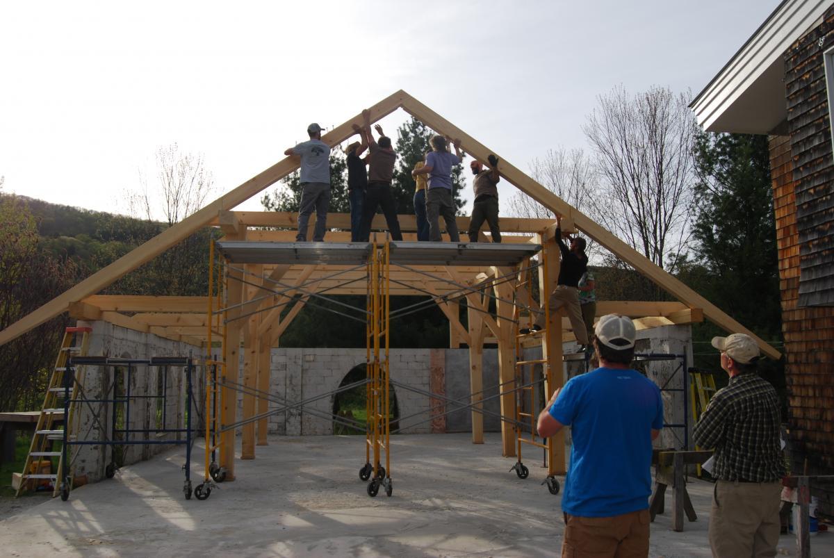 Timber Framing   Yestermorrow Design/Build School